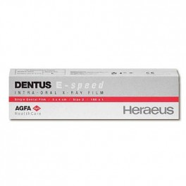 Filme Radiográfico AGFA Dentus Comfort - Heraeus Kulzer