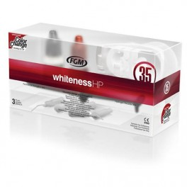 Kit Clareador Dental Whiteness HP 35% com Top Dam