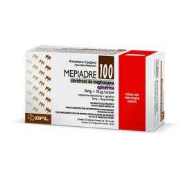 MEPIADRE 100- Cloridrato de mepivacaína
